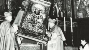 50-lecie koronacji krakowskiej kopii obrazu Matki Bożej Częstochowskiej