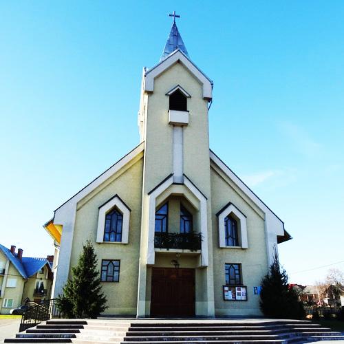 20-lecia parafii Matki Bożej Różańcowej w Kaszowie