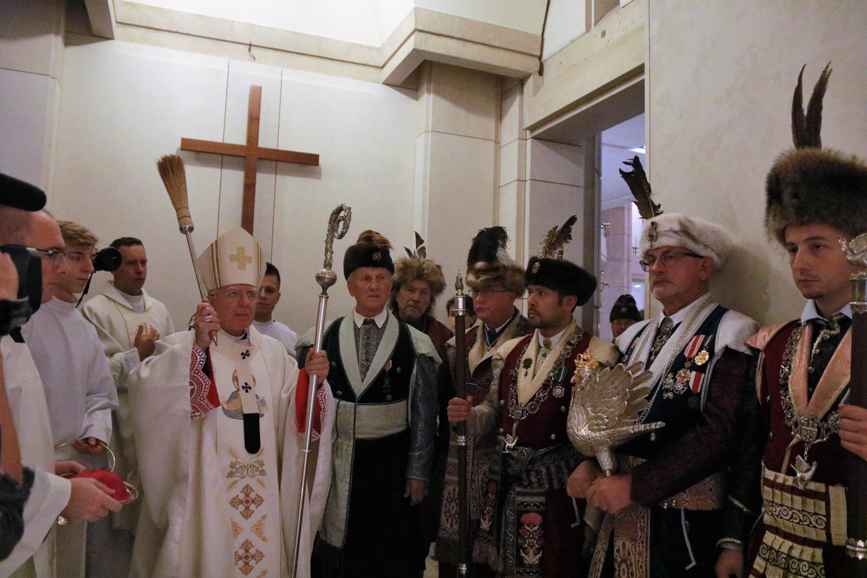Kruchta św. Ojca Pio w Sanktuarium Jana Pawła II