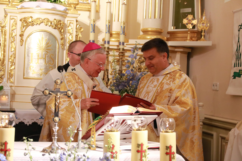 Nowe Sanktuarium Matki Boskiej Pani Saneckiej w Sance