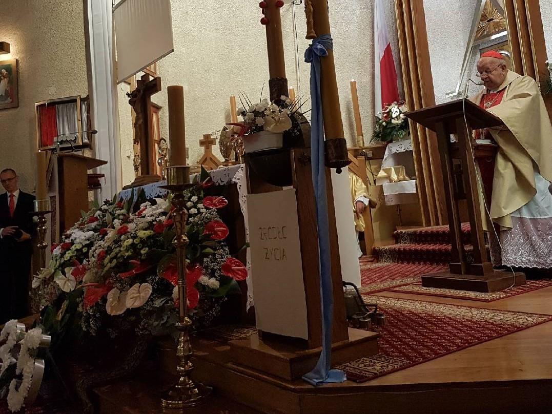 35-lecie parafii Matki Bożej Częstochowskiej w Żabiej Woli