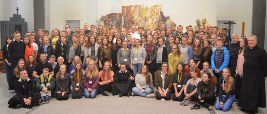 Jubileuszowe spotkanie młodych u zmartwychwstańców