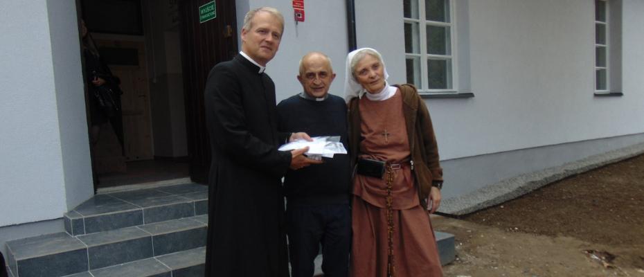 Wspólnota Chleb Życia otworzyła dom dla potrzebujących