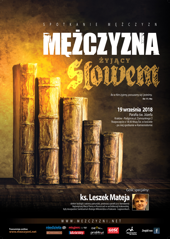 """""""Mężczyzna żyjący Słowem"""" – spotkanie otwarte Mężczyzn Świętego Józefa w Krakowie"""