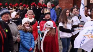 Niemal tysiąc osób przeszło ulicami miasta w V Orszaku Świętych w Libiążu
