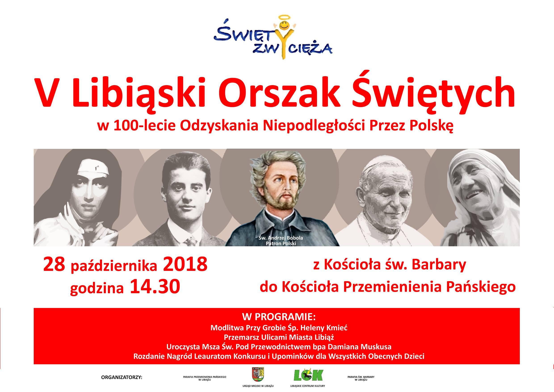 """Orszak Świętych w Libiążu – """"Święty zwycięża"""""""
