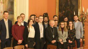 Spotkanie Rady Młodzieży z abp Markiem Jędraszewskim
