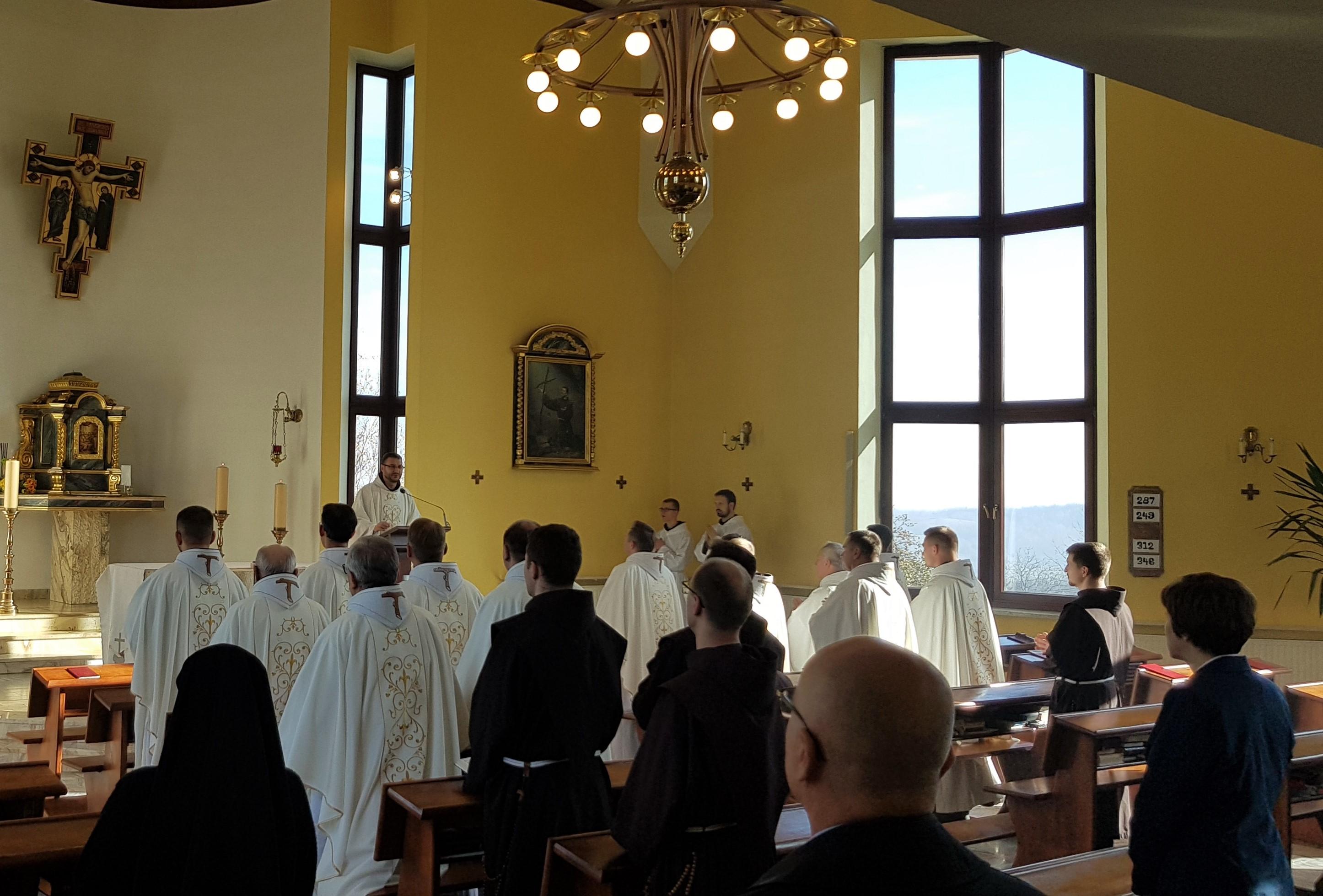 Nowy rok akademicki Wyższego Seminarium Duchownego Bernardynów w Kalwarii