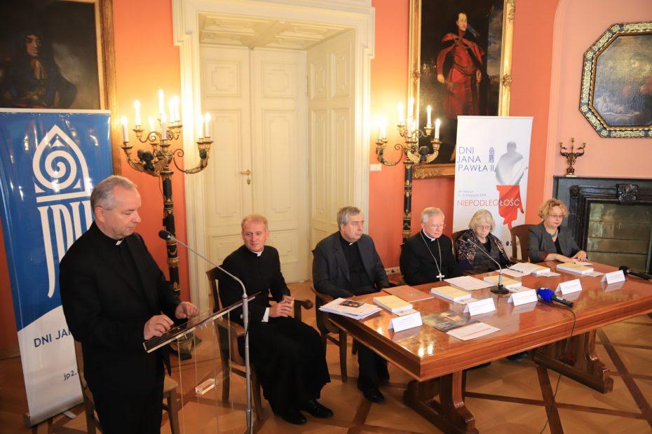 Konferencja prasowa na temat Dni Jana Pawła II oraz 2. Światowego Dnia Ubogich