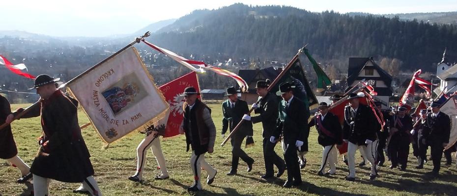 Cztery pory roku Niepodległości w Poroninie