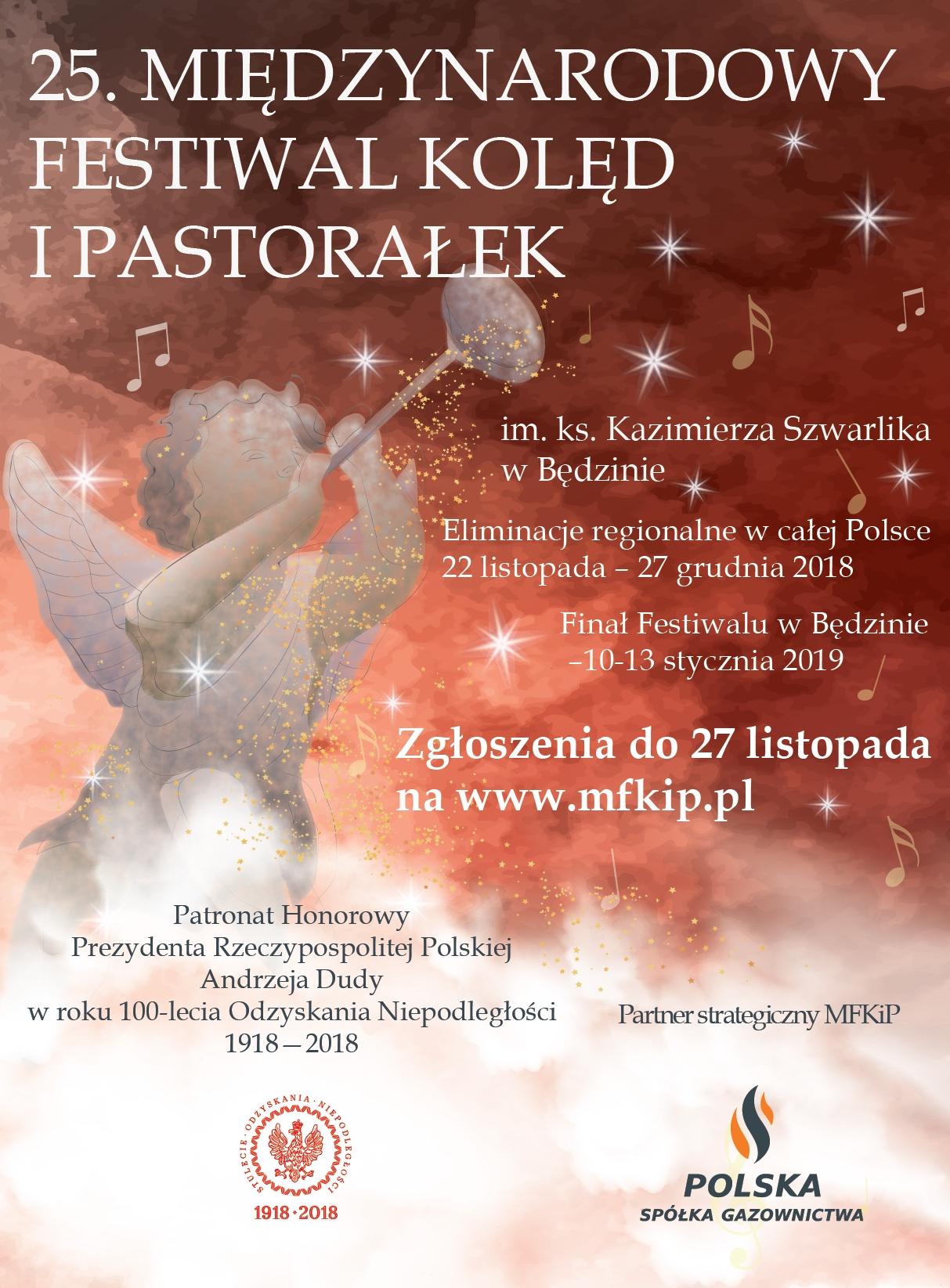 25. edycja Międzynarodowego Festiwalu Kolęd i Pastorałek im. ks. K. Szwarlika