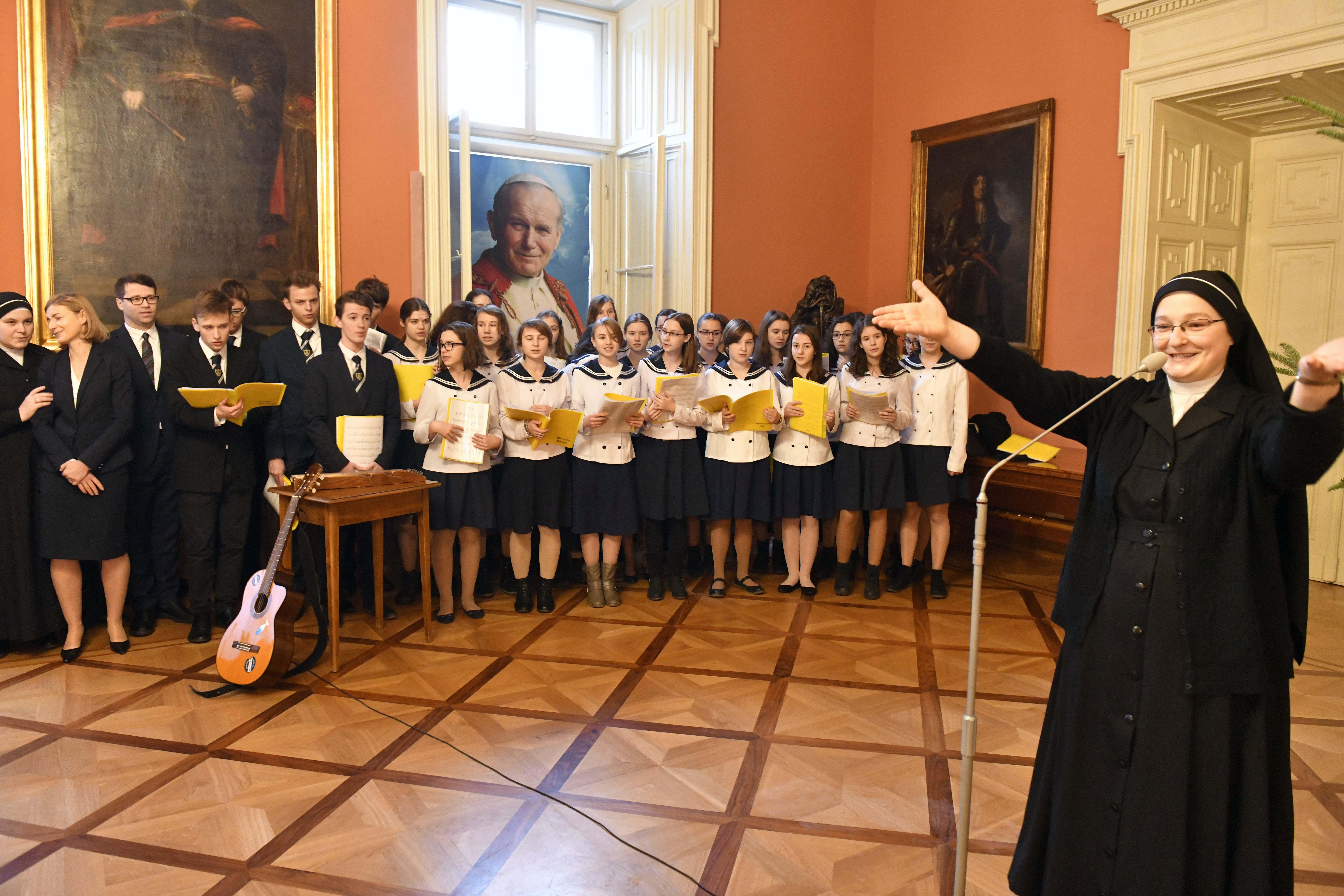 Spotkanie opłatkowe szkół katolickich