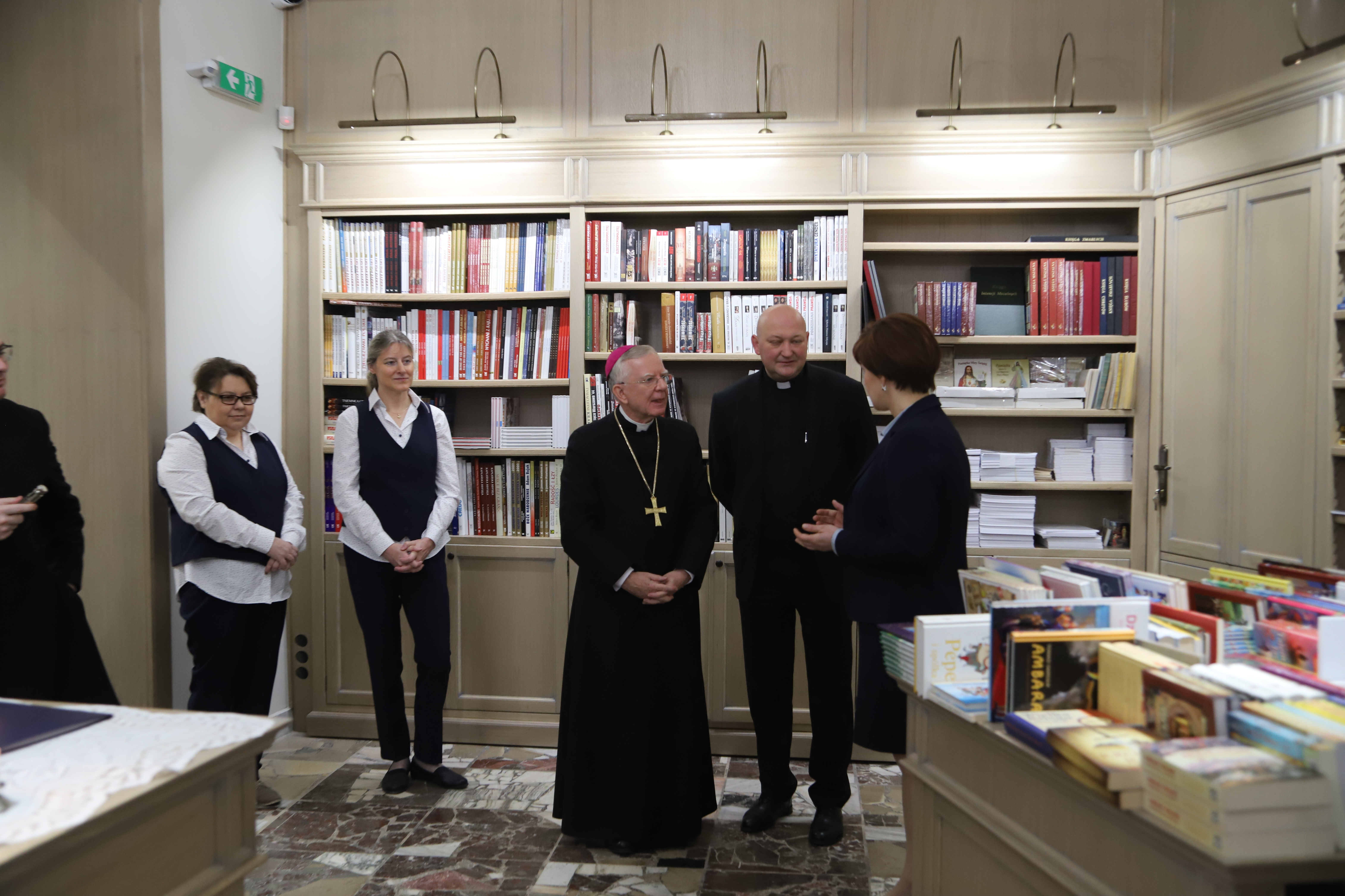 Metropolita poświęcił księgarnię św. Stanisława