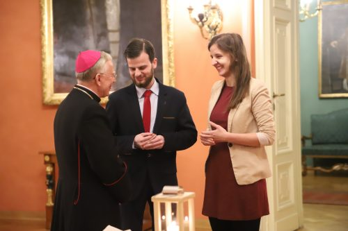 Opłatek z Radą Młodzieży Archidiecezji Krakowskiej