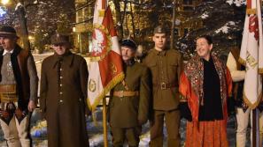 Nowy Targ: górale upamiętnili 37. rocznicę wprowadzenia stanu wojennego
