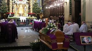 Uroczystości pogrzebowe o. Florentyna Piwosza OFM