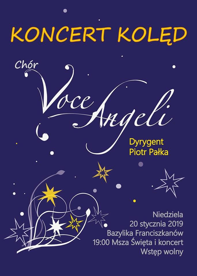 Koncert kolęd – chór Voce Angeli