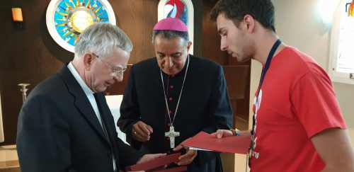 Panama: Franciszek poświęcił ołtarz z relikwiami świętych Jana Pawła II i Oskara Romero
