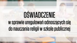 Ks. prof. Tomasik: lekcje religii w szkole na mocy konstytucji