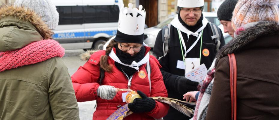 Na Orszaku Trzech Króli wspierano bezdomnych