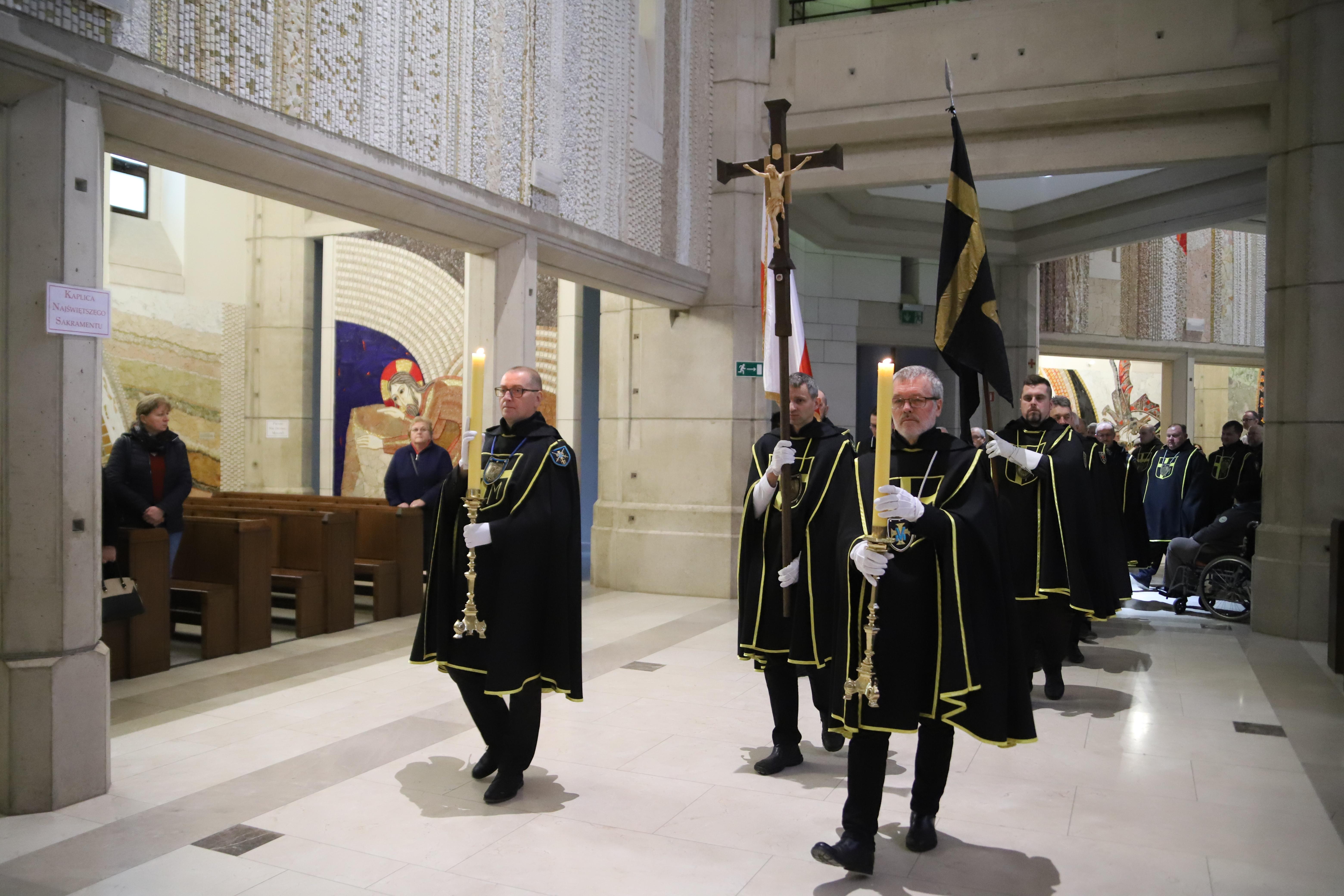 Msza św. dla Rycerzy Jana Pawła II