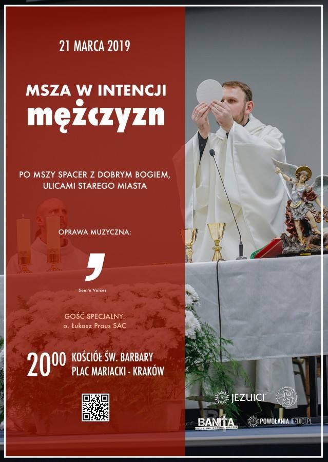 Msza św. w intencji mężczyzn