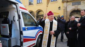 Karetka w służbie krakowskim ubogim