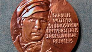 """Medal """"Karol Wojtyła jako student UJ"""""""
