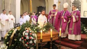 Pogrzeb br. Andrzeja Pastuły OP