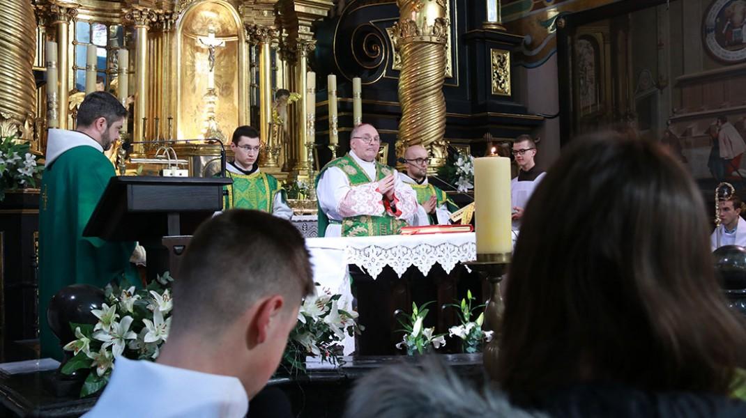 Prymicje biskupie w kalwaryjskim sanktuarium