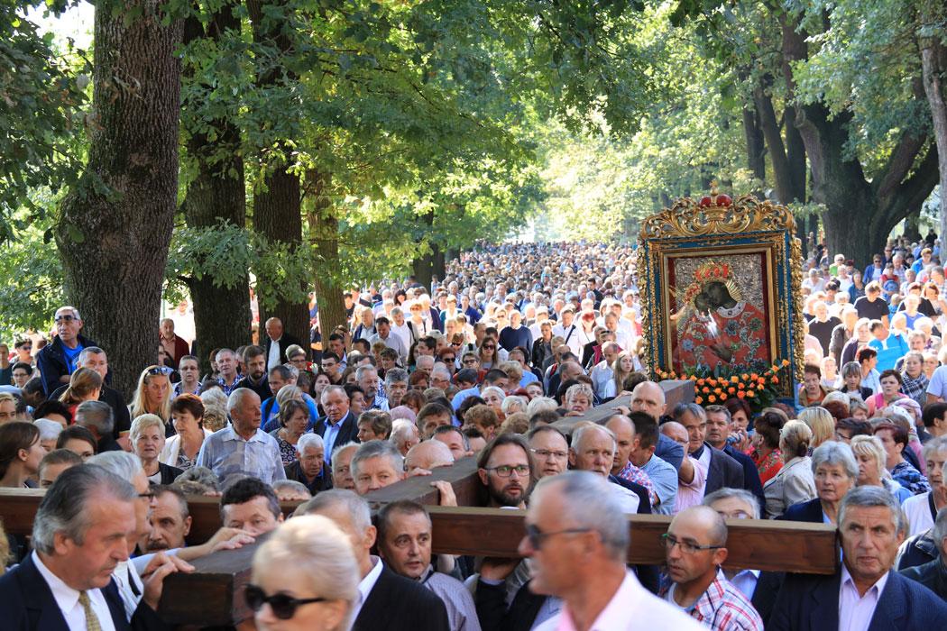Ponad milion osiemset tysięcy pielgrzymów w Kalwarii Zebrzydowskiej