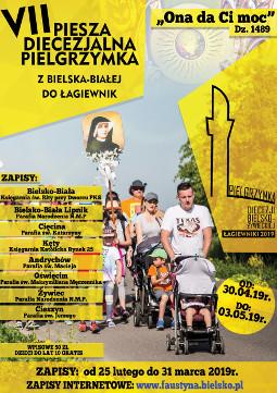 Bielsko-Biała: piesza pielgrzymka do Łagiewnik poświęcona Eucharystii (zapowiedź)