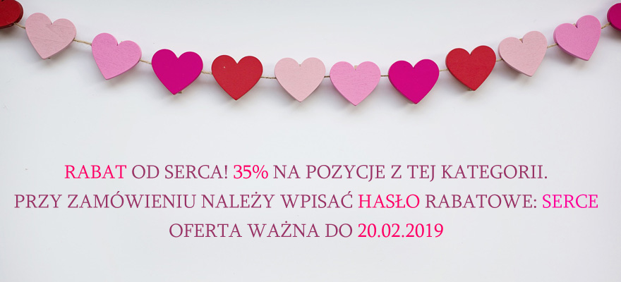 Walentynkowa promocja od serca!