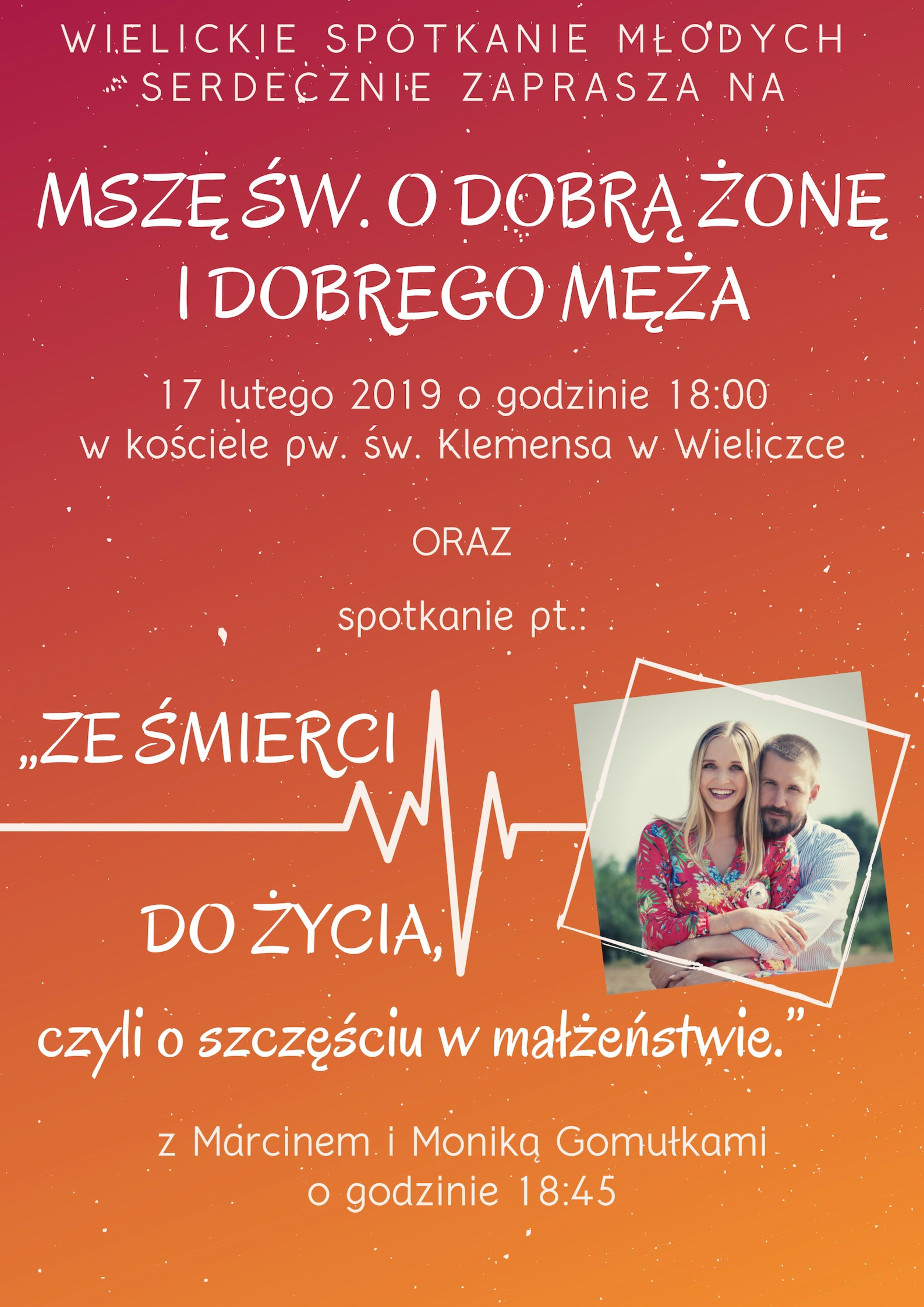 Spotkanie z Moniką i Marcinem Gomułkami