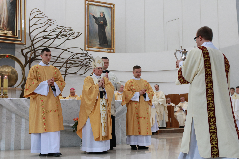 Msza Krzyżma świętego w Wielki Czwartek