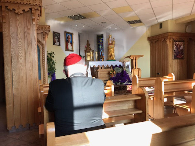 Dobry Samarytaninie dla cierpiących, módl się za nami! Przekazanie relikwii Jana Pawła II szpitalowi w Nowym Targu