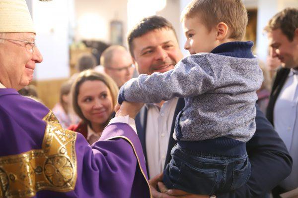Post to święty czas podążania za Chrystusem. Wizytacja kanoniczna w Borku Szlacheckim.
