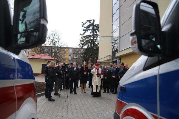 Arcybiskup pobłogosławił nowy sprzęt medyczny dla SPZOZ MSWiA w Krakowie