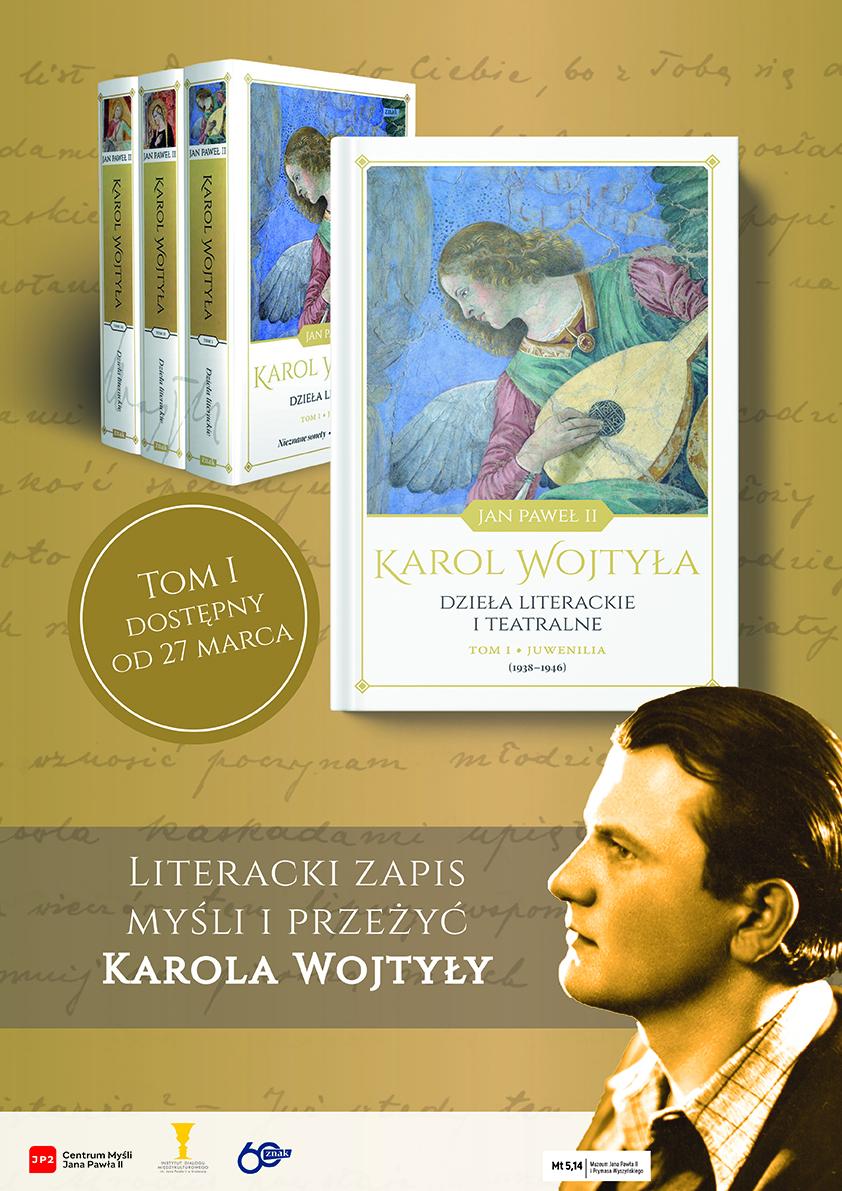 Premiera dzieł literackich Karola Wojtyły – konferencja prasowa w Krakowie