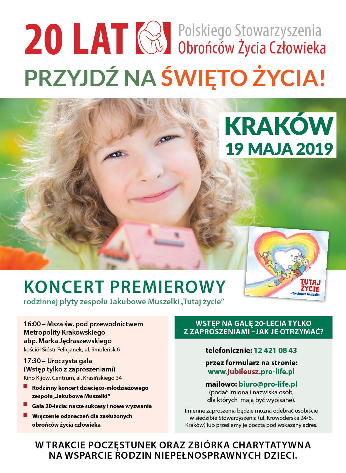 20-lecie Polskiego Stowarzyszenia Obrońców Życia Człowieka