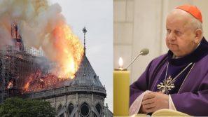 Kard. Stanisław Dziwisz: Płonie symbol chrześcijańskiej Europy