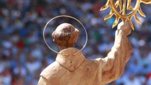 Zapowiedź peregrynacji relikwii św. Bernardyna ze Sieny