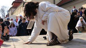 Rozpoczęcie odpustu wielkiego tygodnia w Kalwarii Zebrzydowskiej