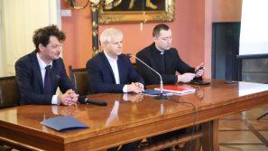 Konferencja prasowa dotycząca przebiegu uroczystości ku czci św. Stanisława, Biskupa i Męczennika
