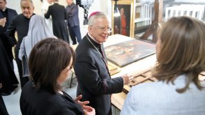 Poświęcenie nowej pracowni konserwatorskiej przy Parafii Wniebowzięcia Najświętszej Maryi Panny