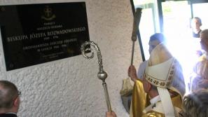 Biskup, który był z ludźmi. Msza św. z błogosławieństwem tablicy poświęconej pamięci biskupa Józefa Rozwadowskiego
