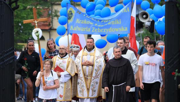 XII Piesza Pielgrzymka z Łagiewnik do Sanktuarium w Kalwarii Zebrzydowskiej