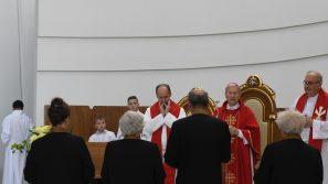 Dziękczynienie za obecność i posługę ks. Franciszka Ślusarczyka