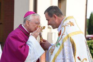 Trwajcie w nadziei, że jest z Wami Bóg! Uroczyste poświęcenie kościoła pw. św. Marii Magdaleny w Wysokiej.