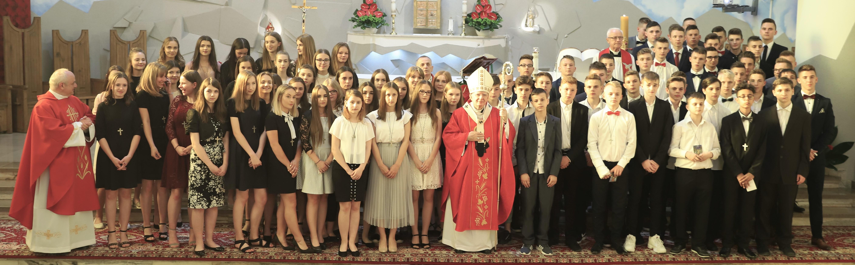 Jesteście nowym pokoleniem Chrystusowych uczniów. Bierzmowanie w Rudniku